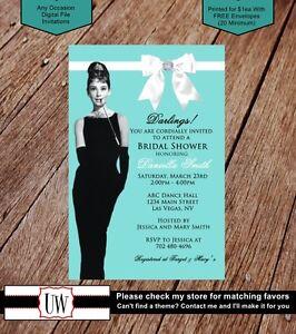 Tiffany Co Invitations Tiffany Invites Party Bridal Baby Shower