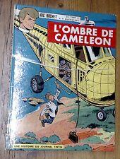 Ric Hochet L'Ombre de Caméléon EO 1966 au cartouche vide