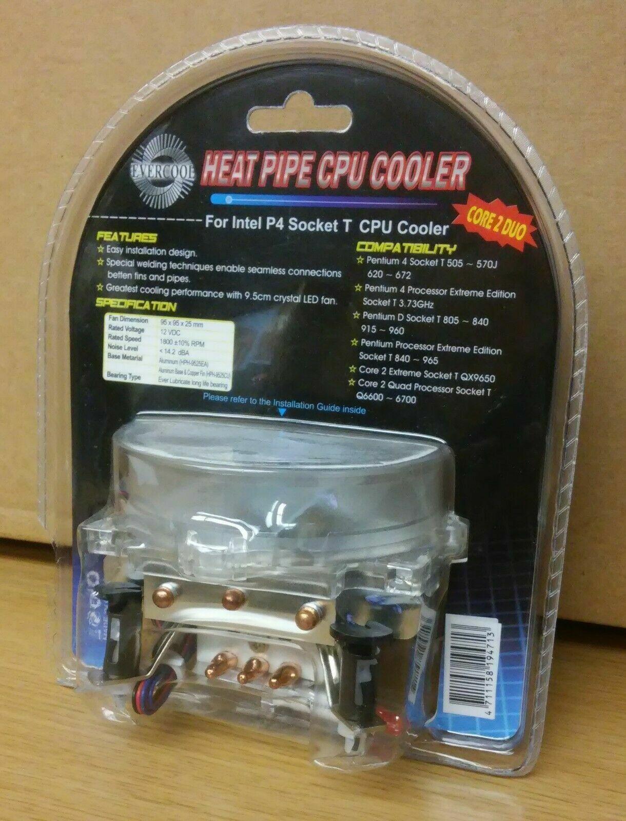 Evercool HPH-9525CU 95mm Ever Lubricate CPU Cooler