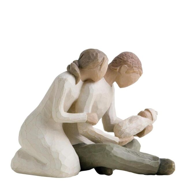 Willow Tree Figurine - New Life, 26029, perfect for a couple with a new baby.