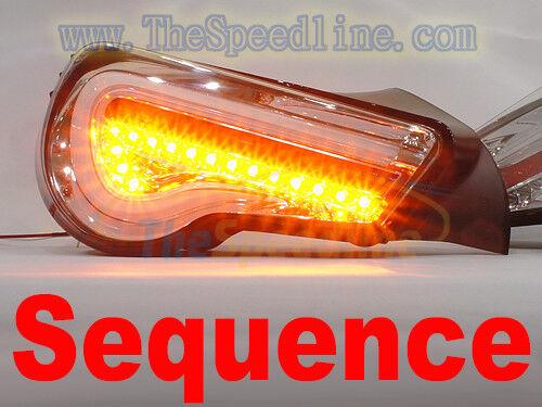 VALENTI 12 13 14 15 16 17 TOYOTA GT-86 SCION FR-S FRS CF LED LIGHT LAMP CHROME