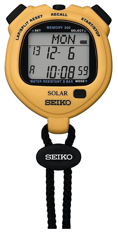 SEIKO SOLER STANDARD STANDARD STANDARD Gelb Stop Watch SVAJ003 86b4c9