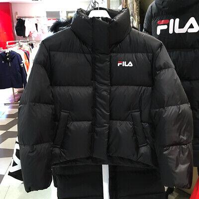 FILA Womens PUFFER SHORT GOOSE DOWN JACKET PARKA BLACK FS2DJA4252F M 2XL TAKSE | eBay