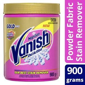 Vanish Napisan Gold Pro Oxi Action Powder Fabric Stain Remover 900g