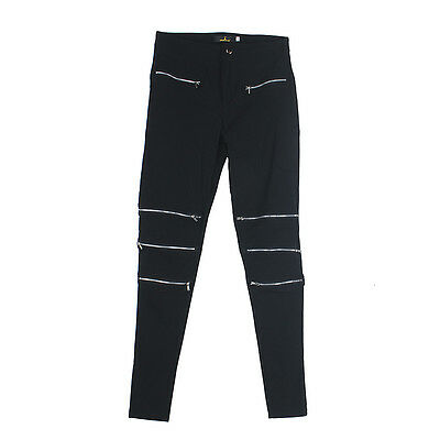 Women Jeans Skinny Zipper Sexy Ripped Soft Stretchy Legging Long Pants