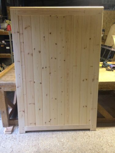 Wooden Garden Gate 6' H x 4' W Bespoke Custom Gates!Cottage Style Side Entrance!