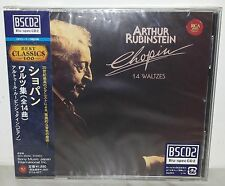 BLU-SPEC CD CHOPIN - 14 WALTZES - RUBINSTEIN - JAPAN SICC 30056