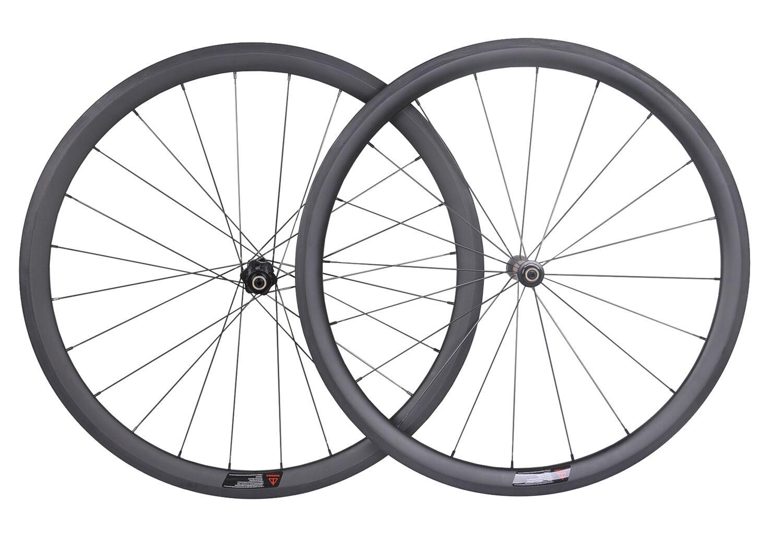 DT Swiss 240 Sapim Carbon Wheel 38mm Tubular Road Bike 700C UD Matt Rim 23 wide
