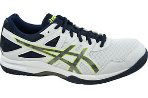 ASICS-GEL-TASK-2-1071A037-101-MEN-039-S-WHITE-VOLLEYBALL-TRAINERS-ORIGINAL