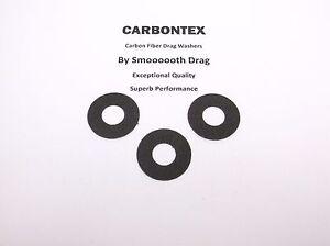 Smooth Drag Carbontex Washers #SDD12 3 DAIWA REEL PART Millionaire CV-Z253A