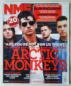 ARCTIC-MONKEYS-ALEX-TURNER-RARE-NME-5-November-2011-FLORENCE-AND-THE-MACHINE