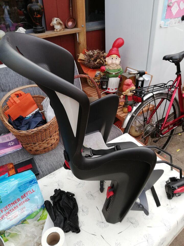 Cykelstol, op til 13 kg , Polisport SORT