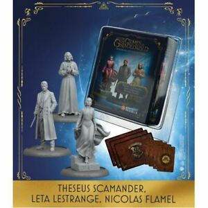 THESEUS-SCAMANDER-LETA-LESTRANGE-NICOLAS-FLAMEL-HARRY-POTTER-MINIATURE-ADVENTURE