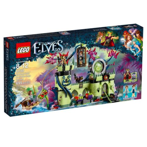 New in Box 695 pieces LEGO® Elves 41188 Breakout from the Goblin King/'s Fort