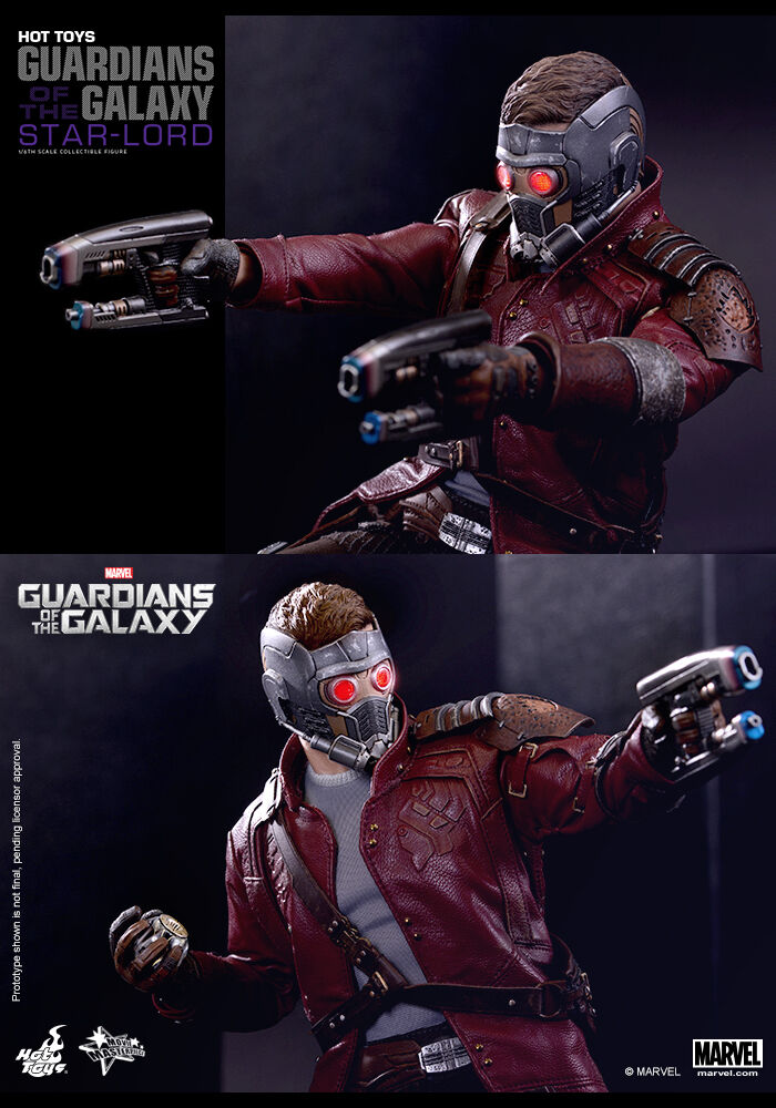 Hot Toys 1/6 Guardians of the Galaxy Galaxy Galaxy Star Lord Special Edition MMS255 8e33b7