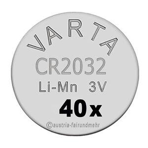034-40x-CR2032-Lithium-Batterien-Knopfzellen-3Volt-VARTA