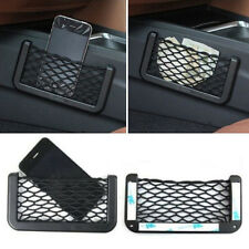 Good Universal Car Seat Side Back Storage Net Bag Phone Holder Pocket Organizer