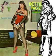 Focus on Betty Bettie Page high heels corsets 1963 Selbee pinup pdf e-book on CD