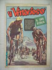 IL VITTORIOSO CICLISMO 1951 GIRO D' ITALIA BARTALI ROBIC KUBLER