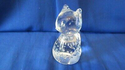 Das Beste Sitzende Katze Figur Aus Massiv Bleikristall Glas 24 % Pb Höhe Ca. 8 Cm