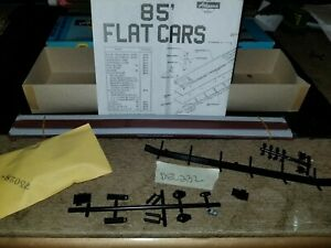 ATHEARN-HO-SCALE-85ft-TRAILER-TRANSPORT-FLAT-CAR-NOS-dec232