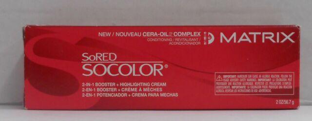 MATRIX SORED SOCOLOR With Cera Oil 2-In-1 Highlighting Cream  ~ 2 oz!!