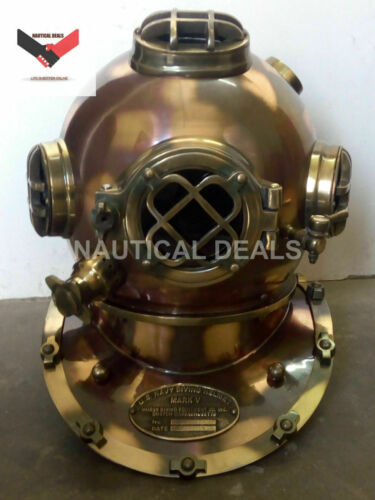 Details about  /U.S Navy Model Special Diving Divers Helmet Fitting Brass /& Iron Aluminum Gift