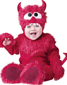 Image is loading Lil-039-Devil-Baby-Infant-Toddler-Boys-Unisex-  sc 1 st  eBay : baby vampire halloween costumes  - Germanpascual.Com