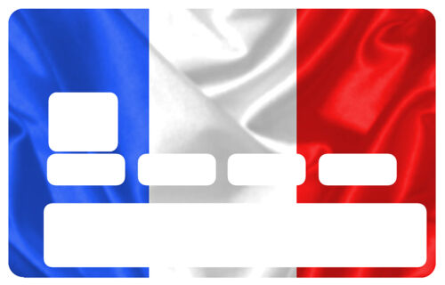 STICKER FRANCE CARTE BANCAIRE CREDIT CARD CB SKIN AUTOCOLLANT STICKER CC080