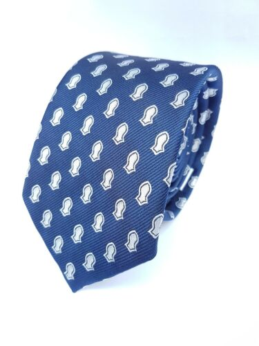 Nalayn Pattern Tie New Non-Silk Navy Blue Nalain Mawlid Milad Men/'s Tie Quality