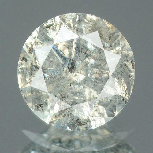 0.50 Ct CERTIFIED Round Brilliant Cut Natural Diamond I1-I2 Clarity
