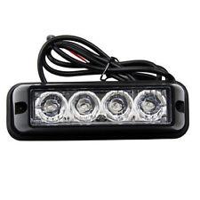 4 LED Auto LKW Strobe Blinklichter Blinkleuchte Warnleuchten Blitzlichter Lampen