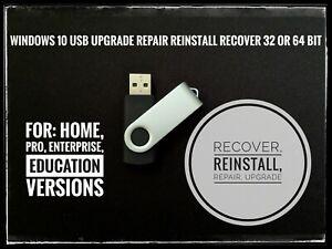 Windows-10-32-64bit-Home-Pro-Enterprise-Education-USB-Flash-Drive-Install-Repair