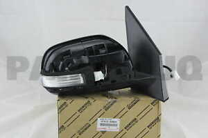 Genuine Toyota 87910-AC020-A0 Rear View Mirror Assembly