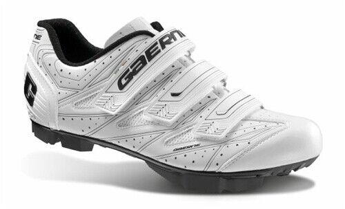 Nouveau Gaerne G Cosmo chaussures pour le Cyclisme Vélo De Montagne Vélo De Montagne BMX-Blanc Taille 46