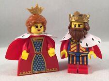 LEGO - Collectible Minifigure - Classic King & Queen - Minifig / Mini Figure