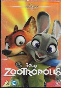 ZOOTROPOLIS R2 DVD DISNEY O-RING SLIPCASE LTD EDITION NO. 54 ON SPINE NEW/SEALED