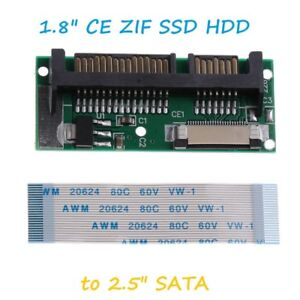 1-8-034-LIF-ZIF-CE-SSD-HDD-to-7-15-Pin-SATA-Adapter-Converter-Cable-Lead-UK-A