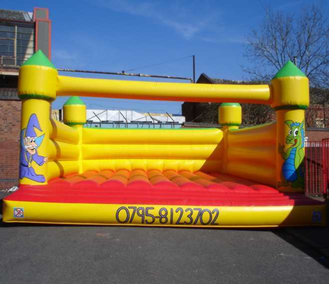 Turret Adult Bouncy Castle 26 FT X 30 FT Made To Order