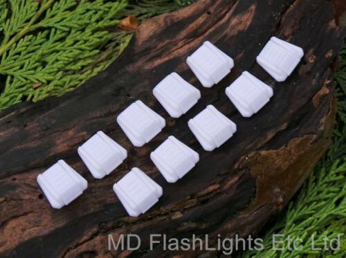 10 x WHITE PARACORD RUCKSACK//JACKET ZIPPER PULLS BUSHCRAFT SURVIVAL SCOUTS