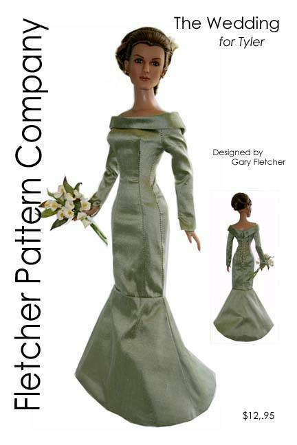 JASMINE 16 AN EXOTIC  SEWING PATTERN FOR TONNER DOLLS TYLER SIDNEY,