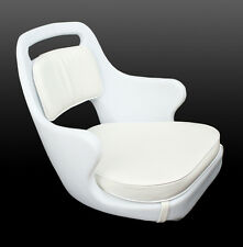Todd Chesapeake White Helm Seat - CHAIR ONLY - Boat Seat 85-1538