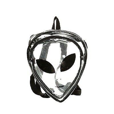 Zarapack Women's PVC Transparent Backpack Clear Bag Purse