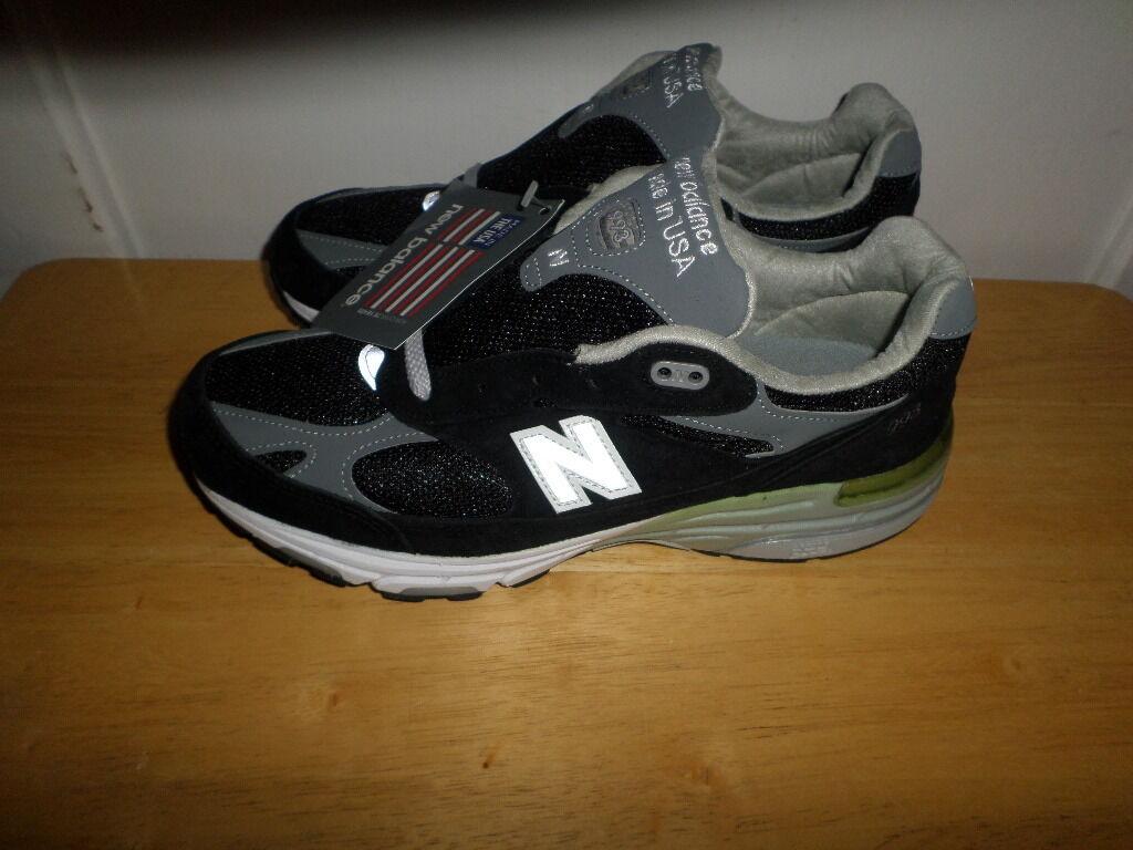 MUST SEE FABULOUS NWT NEW BALANCE 993 WR993BK RUNNING  Chaussures  femmes  7.5 B