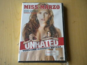 Miss-Marzo-Unrated-DVD-Cregger-Moore-Raquel-lingua-italiano-inglese-francese