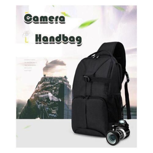 Backpack Bag Waterproof Video Photo Digital Camera Shoulders Padded  Shockproof