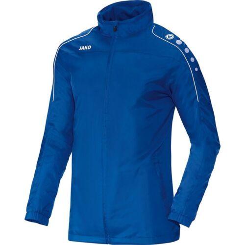 Jako Allwetterjacke Team Kinder Fußball Jacke Outdoorjacke Regenjacke blau Bekleidung Jacken