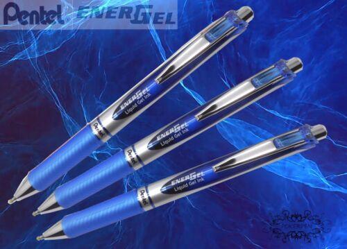 free ship 3 pcs Pentel Ener Gel BL77 roller ball pen 0.7mm GREEN ink