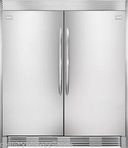Frigidaire GALLERY Stainless Refrigerator & Freezer Combo ...
