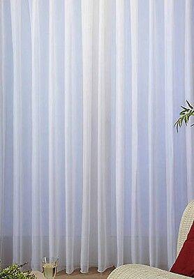 Gardine Store Voile Fertig genäht Fertiggardine Kräuselband Hochwertig vers.B//H